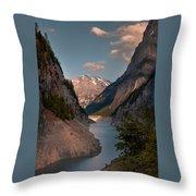 Gigerwaldsee Throw Pillow