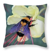 Gila Bumblebee Love Throw Pillow