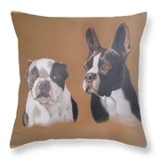 Gilbert And Ellis Throw Pillow