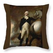 Gilbert Stuart Throw Pillow