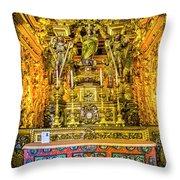 Gilded Chapel Throw Pillow