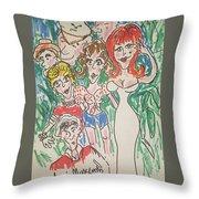 Gilligan's Island   Throw Pillow