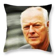 Gilmour #103 By Nixo Throw Pillow