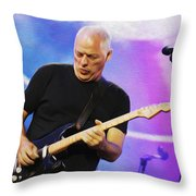 Gilmour Maroon Nixo Throw Pillow