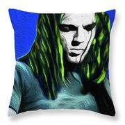 Gilmour Neon Nixo Throw Pillow