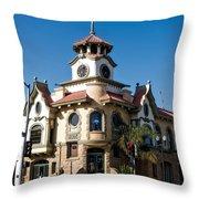 Gilroy's Old City Hall Throw Pillow