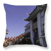 Gin Ling Gifts Los Angeles Throw Pillow