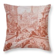 Gin Street Throw Pillow