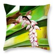 Ginger Bloom-2015 Throw Pillow