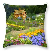 Ginger Cottage Throw Pillow