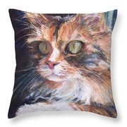 Ginger - Ly Throw Pillow