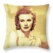 Ginger Rogers, Hollywood Legends Throw Pillow