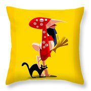 Gipsy Throw Pillow