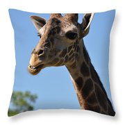Giraffe Neck Throw Pillow