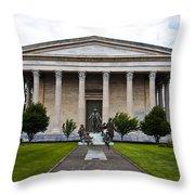 Girard College Philadelphia Throw Pillow