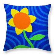 Girasol Throw Pillow
