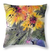Girasoli Throw Pillow