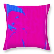 Gisele A French Girl Throw Pillow