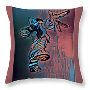 Git Up 4 Throw Pillow
