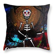 Gitarero Throw Pillow
