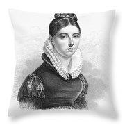 Giuditta Pasta (1798-1865) Throw Pillow