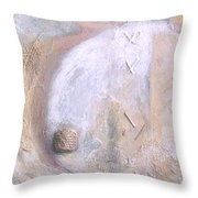 Give And Receive Throw Pillow by Kerryn Madsen-Pietsch