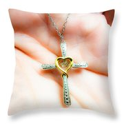 Give Her Of The Fruit Of Her Hand And Let Her Own Works Praise Her In The Gates. Throw Pillow