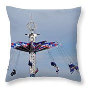 Give It A Spin Throw Pillow