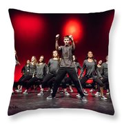 Give It All You Got 8 Throw Pillow