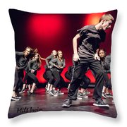 Give It All You Got 9 Throw Pillow