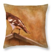 Give Me A Minute Please Throw Pillow