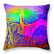 Life Is So Colorful When You Give Me A Ride  Throw Pillow