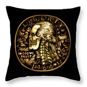 Give Me Liberty Or Give Me Death Throw Pillow