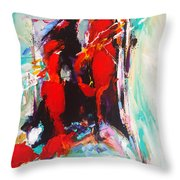 Give Me Something I Can Show My Heart Throw Pillow