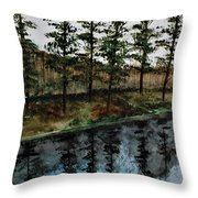Give Peace A Try Throw Pillow