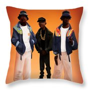 Give The People Throw Pillow by Nelson dedos Garcia
