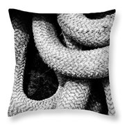 Give Them Some Rope 3 Throw Pillow