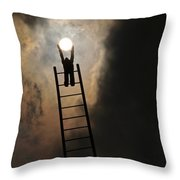 Give You The Sun Throw Pillow