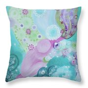 Giving Back Throw Pillow