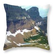 Glacial Pond Throw Pillow