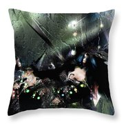 Glaciation Throw Pillow