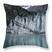 Glacier Bay Majesty Throw Pillow