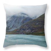Glacier Bay Tarr Inlet Throw Pillow
