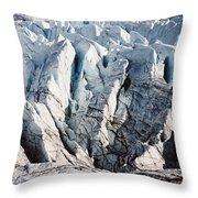Glacier Detail Throw Pillow