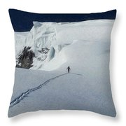Glacier - Id 16235-220312-6699 Throw Pillow
