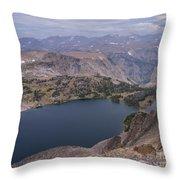 Glacier Lake 3 Throw Pillow