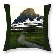 Glacier National Park 8 Throw Pillow
