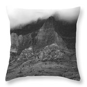 Glacier National Park Montana Horizontal Throw Pillow