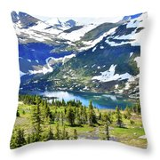Glacier National Park2 Throw Pillow