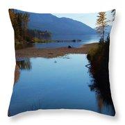 Glacier Park 10 Throw Pillow